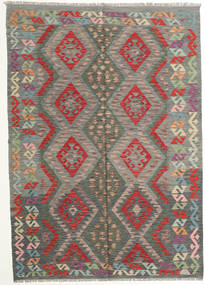 Kilim Afghan Old Style Rug 177X249 Authentic  Oriental Handwoven Dark Grey/Light Brown (Wool, Afghanistan)