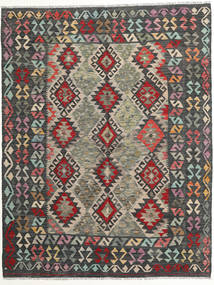 Kilim Afghan Old Style Rug 173X223 Authentic Oriental Handwoven Dark Grey/Light Grey (Wool, Afghanistan)