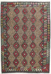 Kilim Afghan Old Style Rug 176X251 Authentic  Oriental Handwoven Dark Grey/Light Grey (Wool, Afghanistan)
