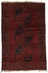 Afghan Khal Mohammadi Matto 115X176 Itämainen Käsinsolmittu Tummanpunainen/Tummanruskea (Villa, Afganistan)
