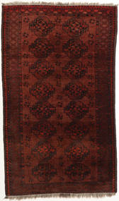 Afghan Khal Mohammadi Rug 111X188 Authentic  Oriental Handknotted Dark Red/Dark Brown (Wool, Afghanistan)