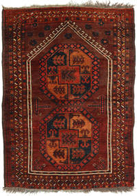 Afghan Khal Mohammadi Rug 106X148 Authentic  Oriental Handknotted Dark Red/Rust Red (Wool, Afghanistan)