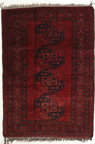 Afghan Khal Mohammadi Rug 118X166 Authentic  Oriental Handknotted Dark Red (Wool, Afghanistan)