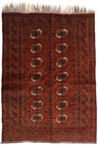 Afghan Khal Mohammadi Teppe 150X201 Ekte Orientalsk Håndknyttet Mørk Brun/Mørk Rød (Ull, Afghanistan)