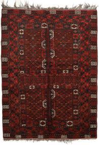 Afghan Khal Mohammadi Rug 160X213 Authentic  Oriental Handknotted Dark Red (Wool, Afghanistan)