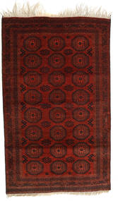 Afghan Khal Mohammadi Rug 119X193 Authentic  Oriental Handknotted Dark Red/Dark Brown (Wool, Afghanistan)