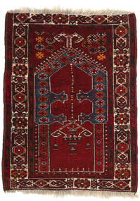 Afghan Khal Mohammadi Rug 78X106 Authentic Oriental Handknotted Dark Red/Dark Brown (Wool, Afghanistan)