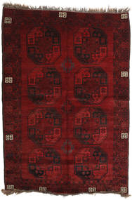 Afghan Khal Mohammadi Rug 144X207 Authentic  Oriental Handknotted Dark Red/Dark Brown (Wool, Afghanistan)