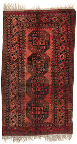 Afghan Khal Mohammadi Rug 117X210 Authentic  Oriental Handknotted Dark Red (Wool, Afghanistan)