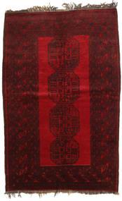 Afghan Khal Mohammadi Rug 134X203 Authentic  Oriental Handknotted Dark Red/Dark Brown (Wool, Afghanistan)