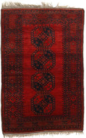 Afghan Khal Mohammadi Rug 136X206 Authentic  Oriental Handknotted Dark Red/Rust Red (Wool, Afghanistan)