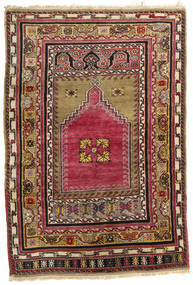 Afgan Khal Mohammadi Dywan 126X183 Orientalny Tkany Ręcznie Jasnobrązowy/Ciemnobrązowy (Wełna, Afganistan)