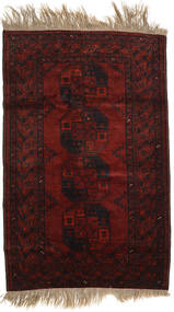 Afghan Khal Mohammadi Rug 126X195 Authentic  Oriental Handknotted Dark Brown/Dark Red (Wool, Afghanistan)