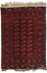 Afghan Khal Mohammadi Matto 128X178 Itämainen Käsinsolmittu Tummanpunainen/Tummanruskea (Villa, Afganistan)