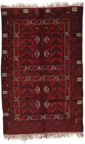 아프가니스탄 Khal Mohammadi 러그 146X220 정품 오리엔탈 수제 다크 레드 (울, 아프가니스탄)