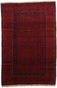 Afghan Khal Mohammadi Teppe 182X278 Ekte Orientalsk Håndknyttet Mørk Rød/Mørk Brun (Ull, Afghanistan)