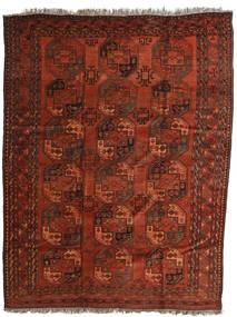 Afghan Khal Mohammadi Tapis 218X285 D'orient Fait Main Marron Foncé/Rouille/Rouge/Rouge Foncé (Laine, Afghanistan)