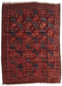 Afghan Khal Mohammadi Teppe 175X244 Ekte Orientalsk Håndknyttet Mørk Rød/Svart (Ull, Afghanistan)