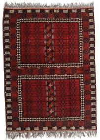 Afghan Khal Mohammadi Matto 167X221 Itämainen Käsinsolmittu Tummanpunainen/Tummanruskea (Villa, Afganistan)