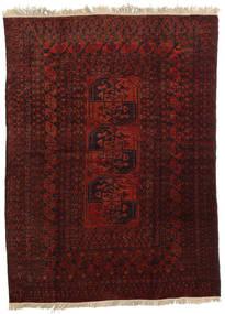 Afghan Khal Mohammadi Teppich 167X227 Echter Orientalischer Handgeknüpfter Dunkelrot/Dunkelbraun (Wolle, Afghanistan)