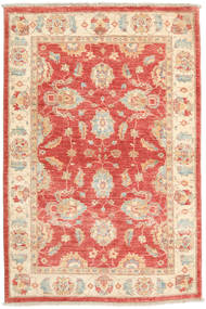 Ziegler Ariana Rug 98X148 Authentic  Oriental Handknotted Rust Red/Beige (Wool, Afghanistan)