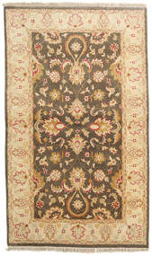 Ziegler Ariana Rug 93X157 Authentic  Oriental Handknotted Dark Beige/Light Brown/Brown (Wool, Afghanistan)