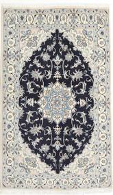 Nain Matta 125X208 Äkta Orientalisk Handknuten Beige/Mörklila (Ull, Persien/Iran)