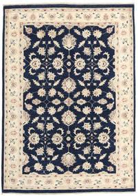 Ziegler Ariana Tapis 141X203 D'orient Fait Main Bleu Foncé/Beige (Laine, Afghanistan)