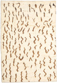 Barchi/Moroccan Berber - Afganistan Matta 199X288 Äkta Modern Handknuten Beige/Ljusrosa (Ull, Afghanistan)