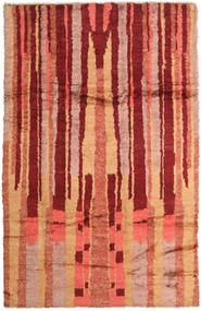 Barchi/Moroccan Berber - Afganistan Rug 190X297 Authentic  Modern Handknotted Dark Red/Orange (Wool, Afghanistan)