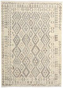 Kelim Afghan Old Style Matto 208X291 Itämainen Käsinkudottu Beige/Tummanbeige/Vaaleanruskea (Villa, Afganistan)