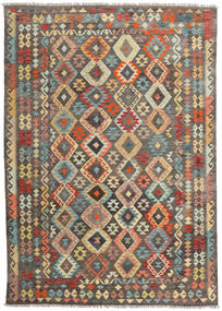 Kilim Afghan Old style carpet ABCZC211