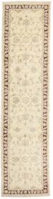 Ziegler Ariana Dywan 75X301 Orientalny Tkany Ręcznie Chodnik Beżowy/Jasnobrązowy (Wełna, Afganistan)