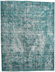 Vintage Heritage Rug 307X397 Authentic Modern Handknotted Dark Turquoise /Light Blue Large (Wool, Persia/Iran)
