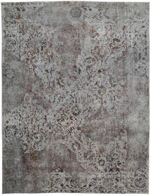 Vintage Heritage Rug 275X360 Authentic  Modern Handknotted Light Grey/Dark Grey Large (Wool, Persia/Iran)