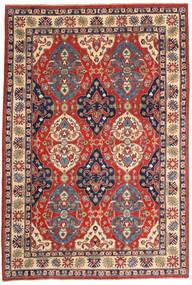 Kazak Matto 183X270 Itämainen Käsinsolmittu Tummanharmaa/Ruoste (Villa, Pakistan)