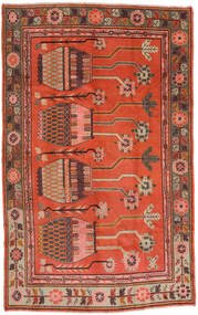 Samarkand Vintage Rug 173X280 Authentic  Oriental Handknotted Dark Red/Crimson Red (Wool, China)