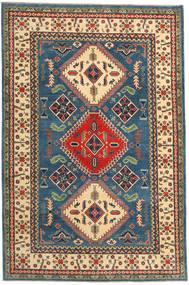 Kazak Matto 195X292 Itämainen Käsinsolmittu Tummanharmaa/Tummansininen (Villa, Pakistan)