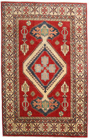 Kazak Rug 183X285 Authentic  Oriental Handknotted Dark Red/Rust Red (Wool, Pakistan)