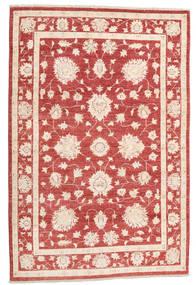 Ziegler Ariana Dywan 123X186 Orientalny Tkany Ręcznie Ciemnoczerwony/Beżowy (Wełna, Afganistan)