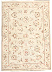 Ziegler Ariana Rug 121X174 Authentic  Oriental Handknotted Beige/Light Pink (Wool, Afghanistan)