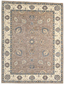 Ziegler Ariana Rug 206X273 Authentic  Oriental Handknotted Light Grey/Beige (Wool, Afghanistan)