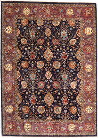 Ziegler Ariana Rug 203X282 Authentic  Oriental Handknotted Brown/Dark Purple (Wool, Afghanistan)