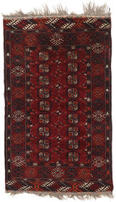 Afghan Khal Mohammadi Alfombra 92X153 Oriental Hecha A Mano Rojo Oscuro/Marrón Oscuro (Lana, Afganistán)