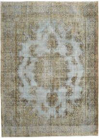 Vintage Heritage Rug 294X406 Authentic  Modern Handknotted Olive Green/Light Grey/Dark Grey Large (Wool, Persia/Iran)