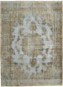 ヴィンテージ Heritage 絨毯 294X406 モダン 手織り オリーブ色/薄い灰色/濃いグレー 大きな (ウール, ペルシャ/イラン)