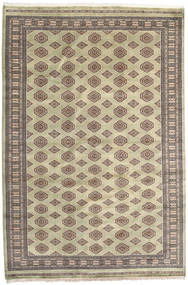 Pakistan Bokhara 2Ply Rug 200X296 Authentic Oriental Handknotted Light Grey/Brown (Wool, Pakistan)