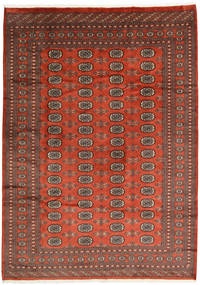 Pakistan Bokhara 2Ply Rug 200X281 Authentic  Oriental Handknotted Dark Red/Rust Red (Wool, Pakistan)