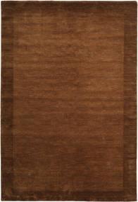 Handloom Frame - Ruskea Matto 200X300 Moderni Ruskea/Tummanruskea (Villa, Intia)