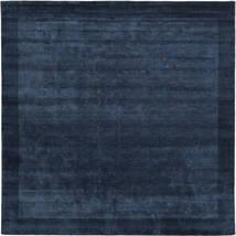 Handloom Frame - Azul Escuro Tapete 300X300 Moderno Quadrado Azul Escuro Grande (Lã, Índia)